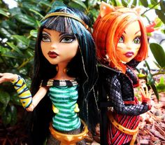 Monster High Toralei and Cleo