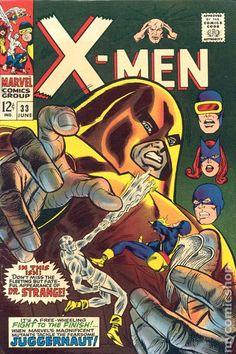 X-Men #33 Comic Cover