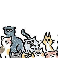 Cat Character, Character Design, Cartoon Drawings, Animal Drawings, Character Illustration, Graphic Illustration, Hippie Art, Hippie Drawing, Simple Cartoon