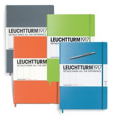 Leuchtturm1917 – Master Slim Dotted  Notebook