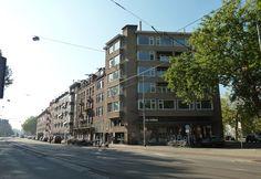 Amsterdam South. Amstelveenseweg. Near exit Vondelpark and Overtoom. Photography.