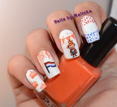Nails by Malinka: Koningsdag