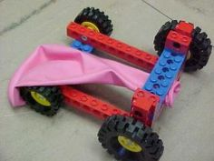 LEGO Balloon Car Challenge .... wonder if I have enough wheels?  Maybe Jake would lead this one!