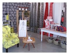 A new look to our showroom. Cape Town, Showroom, Fabrics, Curtains, Google Search, Inspiration, Design, Home Decor, Tejidos
