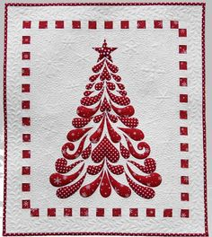Feathered Christmas by Cherry Blossoms Quilting Studio