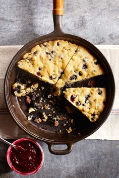 Blueberry corn bread ~ Noel Barnhurst, Photographer