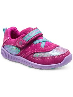 The Kelsey mixes the sporty, athletic trend with cute details for your little girl. Kid Shoes, Baby Shoes, Shoes Sneakers, Athletic Trends, Summer Sneakers, Baby Kids, Toddler Girls, Sporty, Leather
