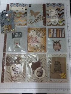 Pocket letter fall theme
