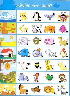Crafts,Actvities and Worksheets for Preschool,Toddler and Kindergarten.Lots of worksheets and coloring pages. Free Kindergarten Worksheets, Pre Kindergarten, Preschool Learning Activities, Worksheets For Kids, Teaching Kids, Animal Worksheets, Printable Worksheets, Free Printable, Printables