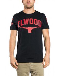 Elwood Bull Horn Tee - Black – West Brothers #elwood #tee