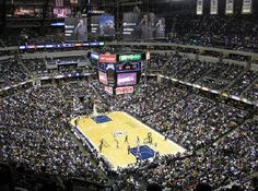 Conseco Fieldhouse..  or Bankers Life Fieldhouse now..
