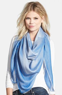 love the color of this scarf for spring