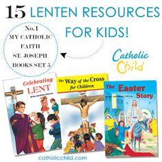 Catholic Religious Education, Catholic Books, Religious Books, Catholic Kids, Religious Studies, Christian Calendar, Easter Story, Lenten, Church Crafts