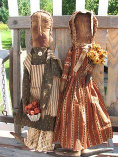 Adorable Primitive Dolls...