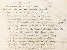 Ozymandias Shelley draft c1817 - Ozymandias - Wikipedia, the free encyclopedia