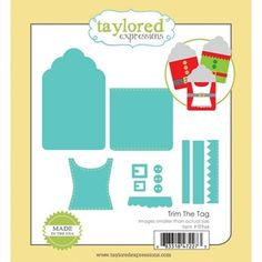 Taylored Expressions TRIM THE TAG Die Set TE966