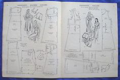 HASLAM-SYSTEM-of-DRESSCUTTING-drafting-system-sewing-pattern-book-No-6
