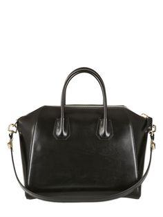 674f2721e6 MEDIUM ANTIGONA SHINY SMOOTH LEATHER BAG Smooth Leather