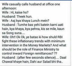 An economist wife