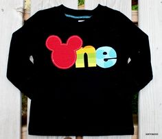 Cute Idea for shirt for Mickey Birthday party
