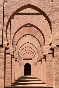 Mosque arches 2 by Ruth Hallam