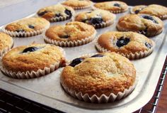 awesome gluten free blueberry muffins
