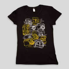 Cameras Women's T-Shirt by Munk One