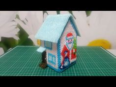 Origami And Quilling, 3d Origami, 3d Paper, Bird, Outdoor Decor, Christmas, Youtube, Home Decor, Xmas