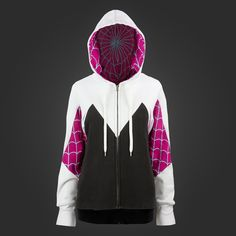 So Geek Chic, fashiontipsfromcomicstrips: WeLoveFine just launched their Spider-Gwen collection #hoodie