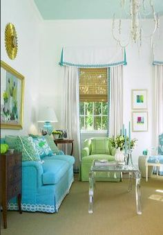 Lily Pulitzer decor - so spring!