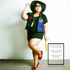 "Erzullie Fierce Plus Size Fashion Philippines: PLUS SIZE FASHION: #OOTD ""DARK AND DRESSY"""