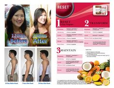 Reset Program is a lifestyle change, not just a flimsy weight loss fad.  Do your 5 day jump start, go straight into the transformation, and finally rest easy at the maintain phase!  www.LifeBeginsNow.usana.com
