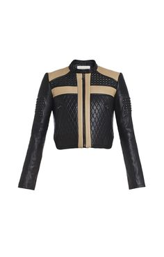 """Jourdan Quilted-Leather Moto Jacket from BCBG is investment piece for the fashionably philanthropic.  All proceeds of this jacket will be donated to LA's BEST, whose mission is """"to provide a safe and supervised after school education, enrichment and recreation program for elementary school children ages 5 to 12 in the City of Los Angeles.""""  #bcbg #jackets"""