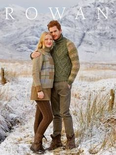 Rowan is promoting two main stories to reflect the major trends for winter WILDERNESS and CRAFTWORK, to contrast with the two main stories, the ESSENTIALS collection of the magazine will concentrate on the key shapes of the season.