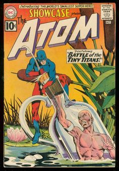 SHOWCASE COMICS #34  first appearence of Ray Palmer