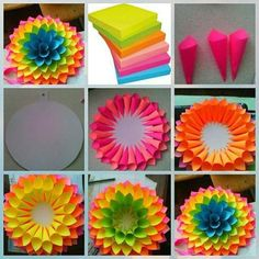 Paper Flower Backdrop Giant Paper Flowers Diy Flowers Quilling Diy Paper Paper Crafts Paper Art Diy Arts And Crafts Diy Crafts Paper Flowers Craft, Giant Paper Flowers, Flower Crafts, Diy Flowers, Flowers Decoration, Paper Flowers How To Make, Tissue Paper Decorations, Rolled Paper Flowers, Wall Flowers