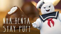 Nhá Benta Stay Puft Marshmallow Man | Miolos Fritos Culinária Nerd