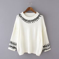 Loose Round Neck Knit Sweater
