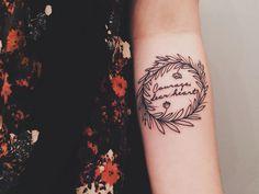 Courage, dear heart #tattoo