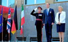 Prince William, Duke of Cambridge attended the celebrations of the 70th anniversary of North Rhine-Westphalia on August 23, 2016 in Duesseldorf, Germany. North Rhine-Westfalia was founded by the British military administration 70 years ago today. Prince William, German Chancellor Angela Merkel attend the celebrations of the 70th anniversary of North Rhine-Westphalia, Kate Middleton