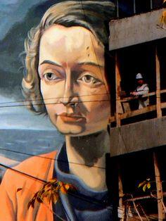 Mural de Antonio Berni en la Cuidad de Rosario, Argentina.
