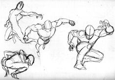 Superhero Poses Reference Of poses and gestures.