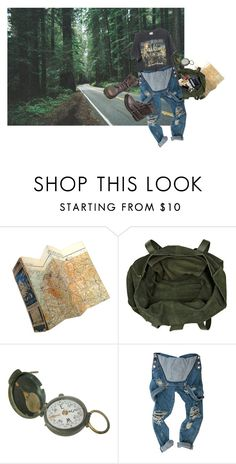 """""""promiselands"""" by confuseme ❤ liked on Polyvore featuring River Island, Chrome Hearts, Brandy Melville, Dr. Martens, Sony and GAS Jeans"""