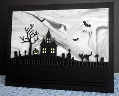 Spooky Scene by mother's daughter - Cards and Paper Crafts at Splitcoaststampers