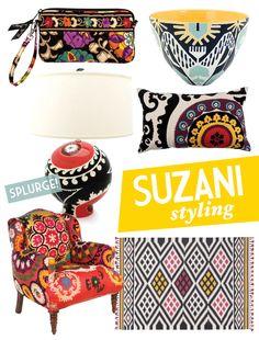 Suzani Wristlet in Adore Home Magazine