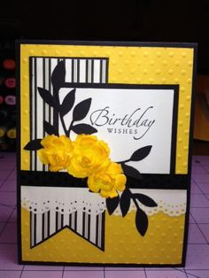 Birthday Wishes by advance4more - Cards and Paper Crafts at Splitcoaststampers