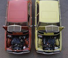 Mercedes-Benz 200 & 230E (W123) by Auto Clasico, via Flickr