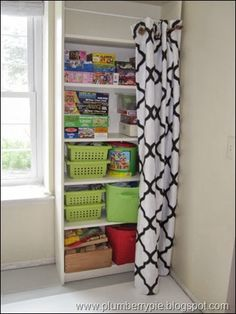 17 Clever Ways to Hide Clutter in Your Home - One Crazy House