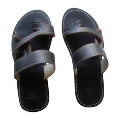Men's handmade leather sandals. Orders are processed and shipped within 48 business hours.