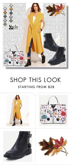 """""""SheIn IX / 12."""" by amra-sarajlic ❤ liked on Polyvore featuring Oris, Anne Klein, DANNIJO, Sheinside and shein"""